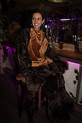 HARRIET CUMING, The launch of Beaver Lodge in Chelsea, a cabin bar and dance saloon, 266 Fulham Rd. London. 4 December 2014