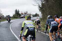 Trixi Worrack tests the legs of her competitors in the hills - 2016 Strade Bianche - Elite Women, a 121km road race from Siena to Piazza del Campo on March 5, 2016 in Tuscany, Italy.