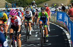 ZIGART Urska of Slovenia competes during Women Elite Road Race at UCI Road World Championship 2020, on September 26, 2020 in Imola, Italy. Photo by Vid Ponikvar / Sportida