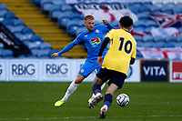 Harvey Gilmour. Stockport County 3-1 Guiseley AFC. Buildbase FA Trophy. 19.12.20