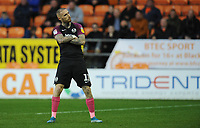 Peterborough United's Marcus Maddison celebrates scoring his side's third goal <br /> <br /> Photographer Kevin Barnes/CameraSport<br /> <br /> The EFL Sky Bet Championship - Blackpool v Peterborough United - Saturday 2nd November 2019 - Bloomfield Road - Blackpool<br /> <br /> World Copyright © 2019 CameraSport. All rights reserved. 43 Linden Ave. Countesthorpe. Leicester. England. LE8 5PG - Tel: +44 (0) 116 277 4147 - admin@camerasport.com - www.camerasport.com