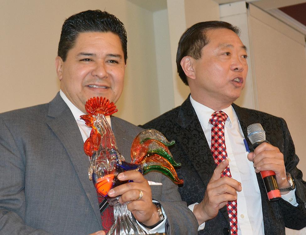 Superintendent Richard Carranza and Dr. Leung.