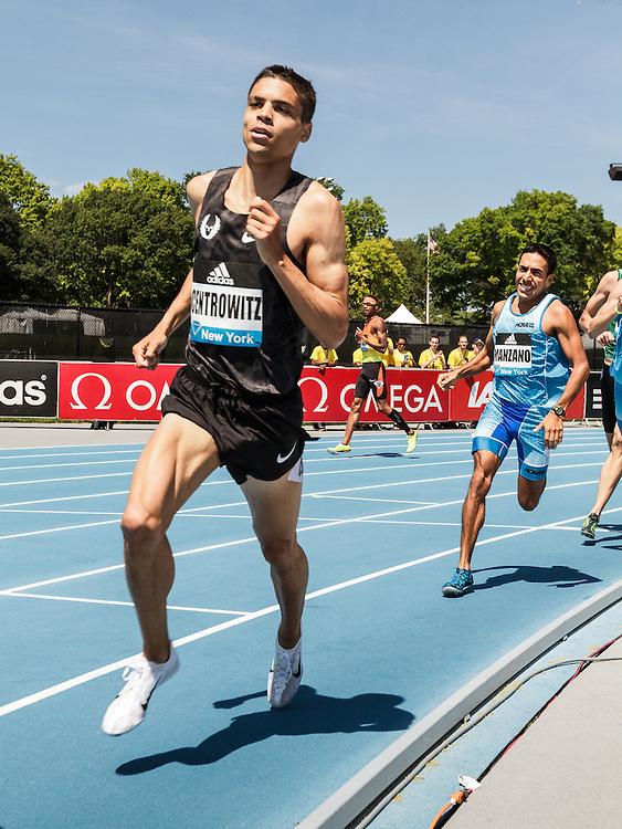 adidas Grand Prix Diamond League Track & Field: Men's 800m, Matthew Centrowitz, USA