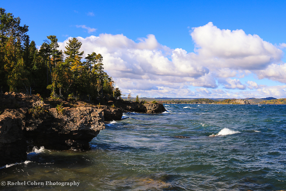 """""""One Very Fine Day""""<br /> <br /> This was a very fine day on Presque Isle Park in Marquette Michigan!"""