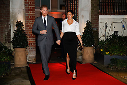 The Duke and Duchess of Sussex arrive at the annual Endeavour Fund Awards at DrapersÕ Hall, London, to celebrate the achievements of wounded, injured and sick servicemen and women who have taken part in remarkable sporting and adventure challenges over the last year.