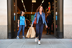 © Licensed to London News Pictures. 15/06/2020. London, UK. Shoppers leave Primark clothes store in Marble Arch Oxford St flagship store as it reopens following a relaxation of Covid-19 rules. Non-essential shops can reopen today following strict government regulations. London, Britain, Jun 15, 2020. (Photo by Ray Tang/Xinhua). Photo credit: Ray Tang/LNP