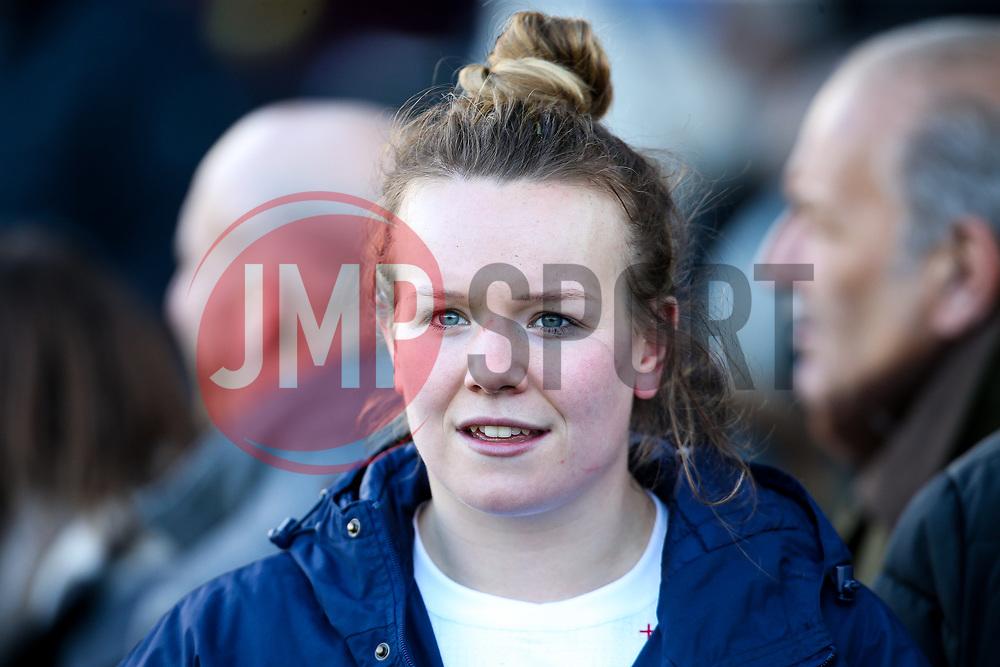 Lark Davies of England Women - Mandatory by-line: Robbie Stephenson/JMP - 10/02/2019 - RUGBY - Castle Park - Doncaster, England - England Women v France Women - Women's Six Nations