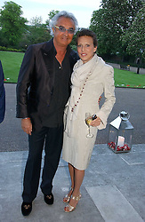 FLAVIO BRIATORE and SARA CARELLO at a party to celebrate the opening of Roger Vivier in London held at The Orangery, Kensington Palace, London on 10th May 2006.<br /><br />NON EXCLUSIVE - WORLD RIGHTS