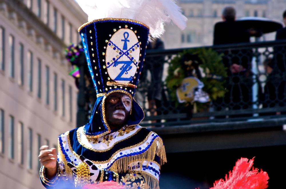 Zulu Parade, New Orleans, Mardi Gras 2010