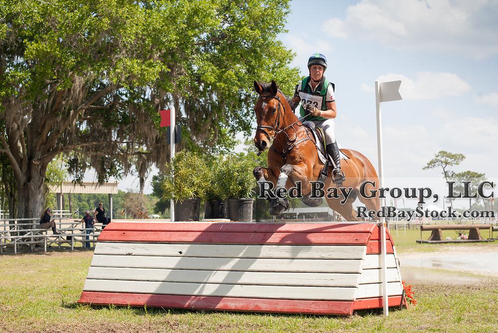 Kylie Lyman and Camiro Boy at the Ocala International in Ocala, Florida.