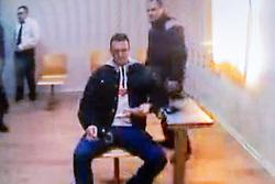 IGOR IN VIDEOCONFERENZA DALLA SPAGNA<br /> UDIENZA PROCESSO IGOR VACLAVIC NORBERT FEHER A FERRARA