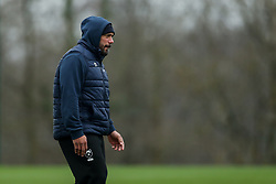 John Afoa of Bristol Bears in action during a training session - Rogan/JMP - 04/03/2021 - RUGBY UNION - Bristol Bears High Performance Centre - Bristol, England.