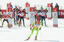 MARIC Janez of Slovenia during Men 12.5 km Pursuit competition of the e.on IBU Biathlon World Cup on Saturday, March 8, 2014 in Pokljuka, Slovenia. Photo by Vid Ponikvar / Sportida