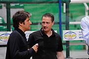 DESCRIZIONE : Siena Lega A 2008-09 Playoff Finale Gara 2 Montepaschi Siena Armani Jeans Milano<br /> GIOCATORE : Lucio Zanca Gianluca Pascucci<br /> SQUADRA : <br /> EVENTO : Campionato Lega A 2008-2009 <br /> GARA : Montepaschi Siena Armani Jeans Milano<br /> DATA : 12/06/2009<br /> CATEGORIA : ritratto<br /> SPORT : Pallacanestro <br /> AUTORE : Agenzia Ciamillo-Castoria/G.Ciamillo