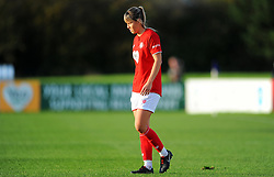Gemma Evans of Bristol City- Mandatory by-line: Nizaam Jones/JMP - 27/10/2019 - FOOTBALL - Stoke Gifford Stadium - Bristol, England - Bristol City Women v Tottenham Hotspur Women - Barclays FA Women's Super League