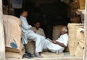 Traders take a break, Bikaner, Rajasthan, India