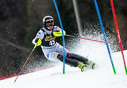 BACHER Fabian of Italy during the Audi FIS Alpine Ski World Cup Men's Slalom 58th Vitranc Cup 2019 on March 10, 2019 in Podkoren, Kranjska Gora, Slovenia. Photo by Matic Ritonja / Sportida