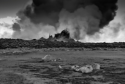Volcano eruption at Holuhraun, highlands of Iceland - Eldgos við Holuhraun
