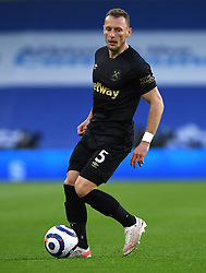 West Ham United's Vladimir Coufal in action during the Premier League match at the American Express Community Stadium, Brighton. Picture date: Saturday May 15, 2021.