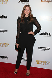 Julianna Guill, In Dubious Battle, film premiere, Arclight Hollywood Cinemas (Hollywood, California)