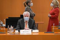 DEU, Deutschland, Germany, Berlin, 03.03.2021: Bundesinnenminister Horst Seehofer (CSU) vor Beginn der 132. Kabinettsitzung im Bundeskanzleramt.