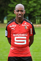 Gelson Fernandes of Rennes during the presentation of the Stade Rennais Team on September 12, 2016 in Rennes, France. (Photo by Andre Ferreira/Icon Sport)