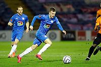 Elliot Newby. Stockport County FC 2-1 Barnet FC. Vanarama National League. Edgeley Park. 16.3.21