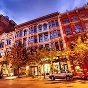 9th Street near Baltimore Street, downtown Kansas City, Missouri.