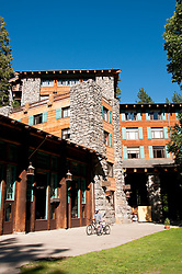 Exterior Ahwahnee Hotel,Yosemite Valley, Yosemite National Park, California, USA.  Photo copyright Lee Foster.  Photo # california120793
