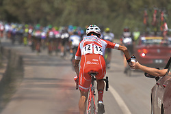 September 12, 2017 - Yunzhu, China - Italian rider Raffaello Bonusi from Androni-Sidermec-Bottecchia team during the second stage Jinzhong A to B race of the 2017 Tour of China 1, the 197km from Dazhai to Yunzhu. .On Tuesday, 12 September 2017, in Yunzhu, Xiyang County, Shanxi Province, China. (Credit Image: © Artur Widak/NurPhoto via ZUMA Press)