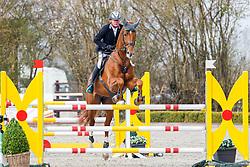 08.1, Youngster-Springprfg. Kl. M* 6+7j. Pferde, Ehlersdorf, Reitanlage Jörg Naeve, 29.04. - 02.05.2021,, Thomas Voss (GER), Mister Zinedine,