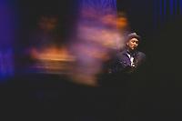 Singer Michael Magno takes the stage at Eddie's Attic in Decatur, GA