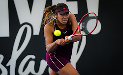 December 30, 2018 - Brisbane, AUSTRALIA - Destanee Aiava of Australia in action during qualifications at the 2019 Brisbane International WTA Premier tennis tournament (Credit Image: © AFP7 via ZUMA Wire)