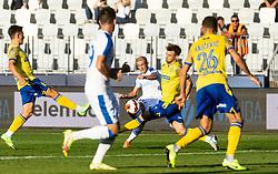 during football match between NK Koper and NK Domzale in 4th Round of Prva Liga Telemach 2021/22, on September 29, 2021 in Sport park Bonifika, Koper / Capodistria, Slovenija. Photo by Vid Ponikvar / Sportida