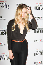 Curzon Bloomsbury, London, December 14th 2016. Celebrities attend the launch of Amazon Prime's European premiere for Season 2 of The Man In The High Castle. PICTURED: Nell Hudson