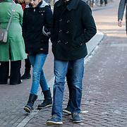 NLD/Amsterdam/20121208 - Herdenkingsdienst voor de verleden Jeroen Willems, Daniel Boissevain en dochter