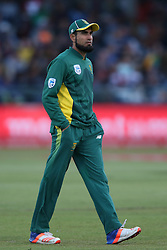 Imran Tahir of South Africa during the 5th ODI match between South Africa and Australia held at Newlands Stadium in Cape Town, South Africa on the 12th October  2016<br /> <br /> Photo by: Shaun Roy/ RealTime Images
