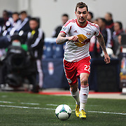 Jonathan Steele, New York Red Bulls, in action during the New York Red Bulls V D.C. United, Major League Soccer regular season match at Red Bull Arena, Harrison, New Jersey. USA. 16th March 2013. Photo Tim Clayton
