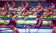 Barcelona,  SPAIN, 1992 Olympic Regatta. Lake Banyoles, Nr Barcelona, AUS M4-, Mike  MCKAY, Nick GREEN, James TOMKINS, Andrew COOPER,  [Nickname; Oarsome Foursome]<br />  [Mandatory Credit: © Peter Spurrier/Intersport-images]