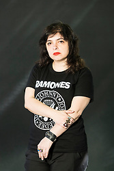 Mariana Enriquez appearing at the Edinburgh International Book Festival<br /> <br /> Mariana Enriquez works as a journalist and is the deputy editor of the arts and culture section of the newspaperPágina/12. She has published the novels:Bajar es lo peor(Espasa Calpe, 1995) andCómo desaparecer completamente(Emecé, 2004). She has also written the short story books:Los peligros de fumar en la cama(Emecé, 2009) and the noveletteChicos que vuelven(Eduvim, 2010). Her stories have appeared in anthologies of Spain, Mexico, Chile, Bolivia and Germany.