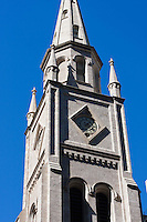 church spire on 6th avenue in New york City in October 2008