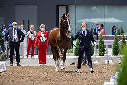 Shuvalova Maria, ROC, Famous Cross, 162<br /> Olympic Games Tokyo 2021<br /> © Hippo Foto - Dirk Caremans<br /> 23/07/2021