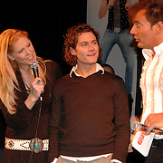 NLD/Amsterdam/20070301 - Perspresentatie So You wannabe a popstar, Nance Coolen, Sacha Visser en Gerard Joling