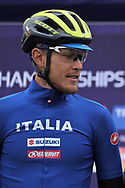 Matteo Trentin (Italiy) at the presentation during the Road Cycling European Championships Glasgow 2018, in Glasgow City Centre and metropolitan areas Great Britain, Day 11, on August 12, 2018 - Photo Laurent Lairys / ProSportsImages / DPPI