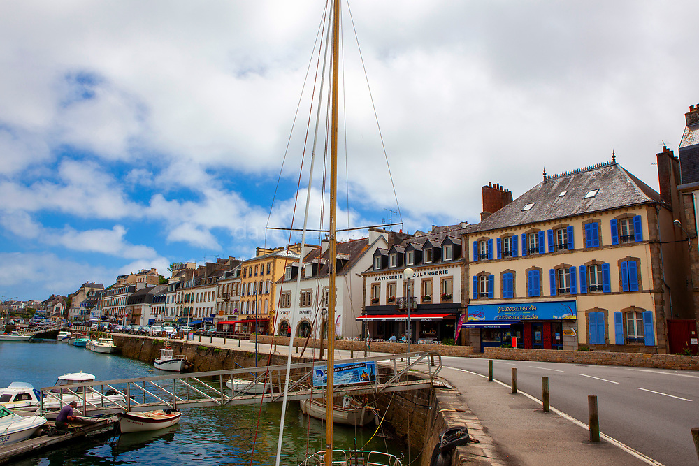 Audierne, Brittany, France