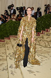 Evan Rachel Wood attending the Costume Institute Benefit at The Metropolitan Museum of Art celebrating the opening of Heavenly Bodies: Fashion and the Catholic Imagination. The Metropolitan Museum of Art, New York City, New York, May 7, 2018. Photo by Lionel Hahn/ABACAPRESS.COM