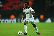 Joshua Onomah of Tottenham Hotspur in action. UEFA Champions league match, group E, Tottenham Hotspur v CSKA Moscow at Wembley Stadium in London on Wednesday 7th December 2016.<br /> pic by John Patrick Fletcher, Andrew Orchard sports photography.