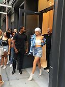 Kyle Jenner leaves hotel in New York