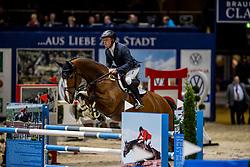 GREVE Willem (NED), Disinaa <br /> Preis der WIRmachenDRUCK GmbH<br /> Int. jumping competition against the clock (1.50 m) - CSI3* Grosse Tour<br /> Braunschweig - Classico 2020<br /> 06.03.20<br /> © www.sportfotos-lafrentz.de/Stefan Lafrentz