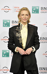 Cate Blanchett attends The House with a Clock in its Walls photocall at the Rome Film Fest 2018, Italy on October 19 2018.